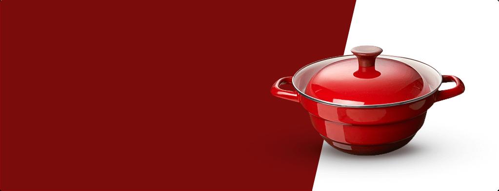 琺瑯多功能蒸煮鍋
